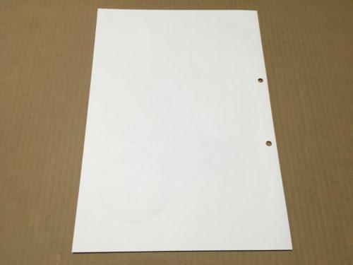 コースター用の厚紙
