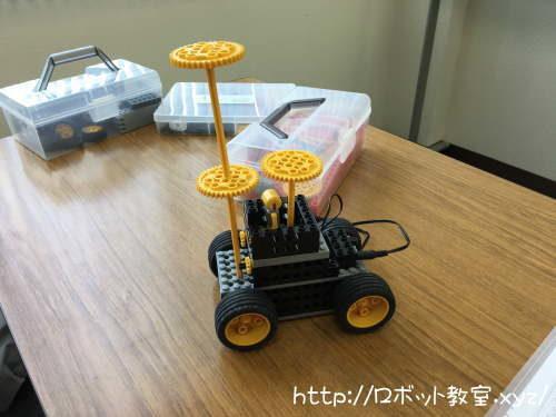 アレンジしたロボット