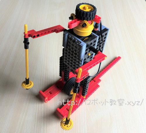 ヒューマンアカデミーロボット教室のスキーロボット