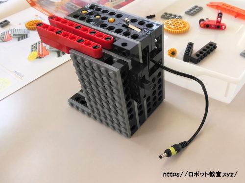小学生が一生懸命作ったロボット