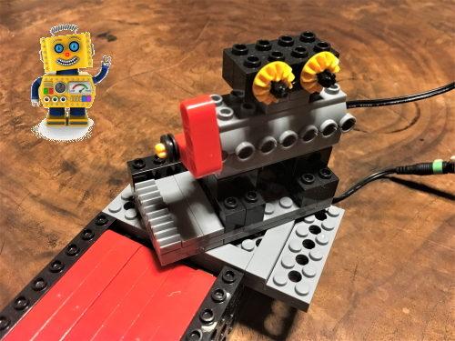 楽しいボウリングロボット