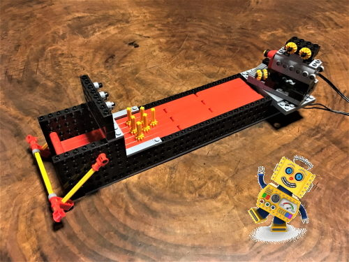 小学1年生が完成させたロボット