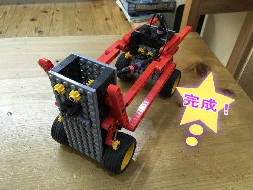 小学1年生が作ったロボット。ヒューマノイドロボット