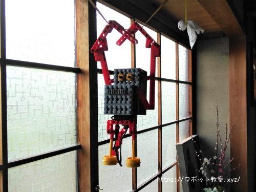 ヒューマンアカデミーロボット教室のロボットで遊ぶ。簡単?に作れたよ。