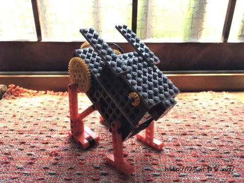 1年生でも上手に作れたロボット