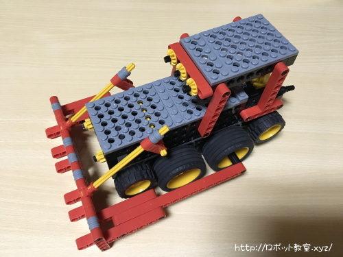 ヒューマンアカデミーロボット教室で作ったロボット
