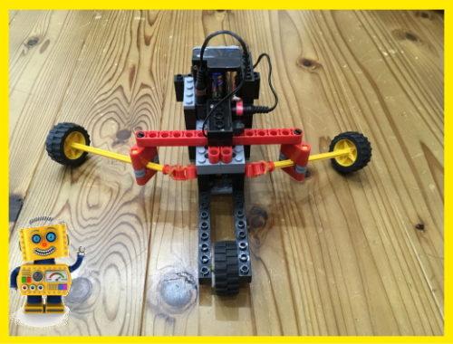 小学生が作ったロボット「ロボート」