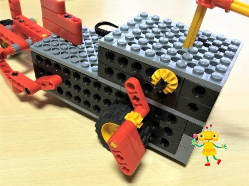 ヒューマンアカデミーロボット教室ベーシックコースで作ったロボット。小学1年生の感想