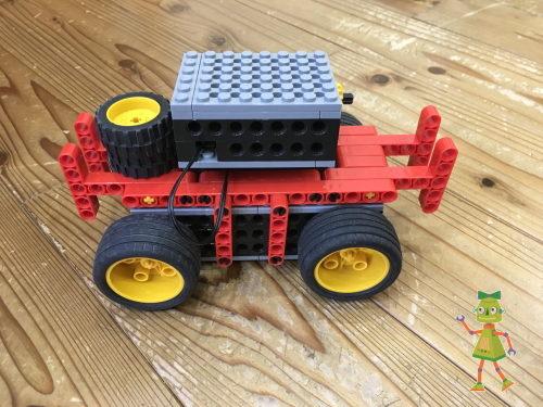 ヒューマンアカデミーロボット教室体験で小学生が作ったロボット。ネタバレ